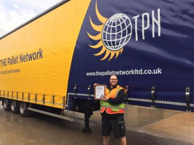 TPN driver receives an award for saving a man's life on Halifax flyover